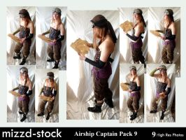 Pirates-Airship Captain Pack9 by mizzd-stock