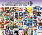 Super Smash Bros. 4 Fanmade Roster: Part 5 by MagnetarMaster