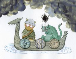 Eldric and the Reluctant Snorg by Hannakin
