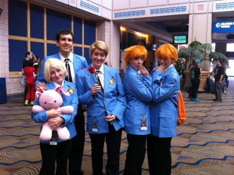 Ouran HS Host Club Cosplay MetroCon 2012 by KcKreations