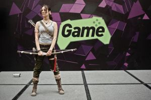 Lara Croft cosplay - WeGame 9 by TanyaCroft
