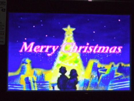 Merry Christmas with NiGHTS 3 (Sega Saturn) by ChechelEXGBR