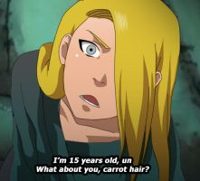 Fake screenshot - Deidara by Lairam