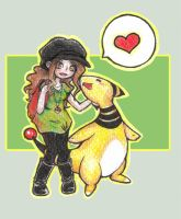 Ampharos by Valen-chan