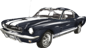 1965 Ford Mustang Fastback by WhoDrewThis