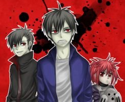 Blood Lad - Family Protrait? by nayght-tsuki