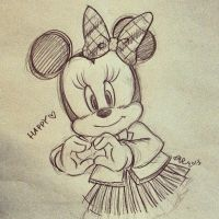 Doodle_minnie by asami-h