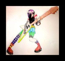 That Crazy Rocker Chick by MyDemonMuse
