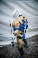 metalgear solid [Gray fox] cosplay by Villageshope