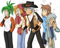 An Old HM Group Shot by Dext