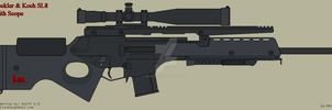 Heckler and Koch SL8 Sniper by Wolff60