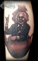 Einstein by state-of-art-tattoo