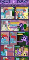 Rocket to Insanity: Common Differences 9 by seventozen