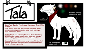 Ref sheet : Tala by PhotoTini