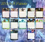 2013-1434-Videogames_Calendar by KD1only