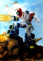 Armada Optimus Prime by HCP-RedSync