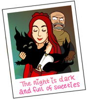 The Night is Cute (Game of Thrones Spoilers) by Batata-Tasha
