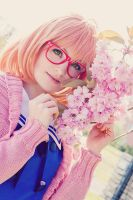 Kyoukai no Kanata - Gentle by aco-rea