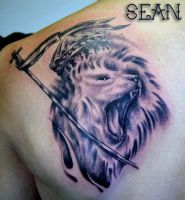 lion by seanspoison