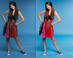 Victorious Photoshop Action by nadakills