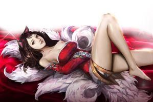 League of Legends Ahri by Fanatic2015