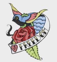 I love Freedom by BelligerentButterfly
