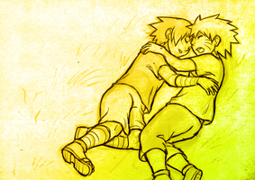 Naruto - Afternoon Nap by rasenth