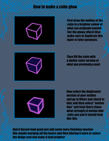 How to make cubes glow by jose8898