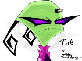 Invader Zim: Tak by Metal-CosxArt