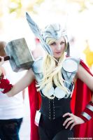 Lady Thor - Anime Expo 2012 by Axis33
