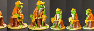 Splash Mountain Toy 3 by AreteStock