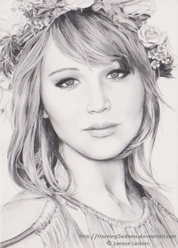 Jennifer Lawrence by MorningSadness