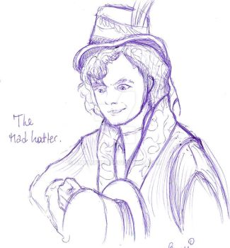 The mad hatter by AmyLeeKey