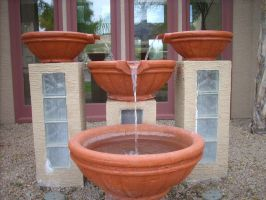 Clay Pots Water Fountains-01 by hummingbird88