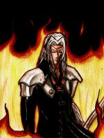 Old Sephiroth Pic by Meksicano