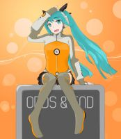 Odds and Ends - Hatsune Miku by VLK1993