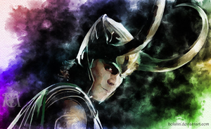 Watercolor Loki by bolatin