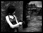Ada Wong exploring the village by Wernest
