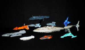 Rag Tag Fleet - Pic 5 by CyberDrone