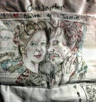 Mr. and Mrs. F on a purse. by fbforbill