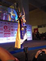 Warrior of Light HyperJapan 2012 Cosparade by Lady-Avalon