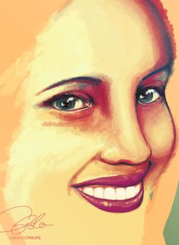 Face of Dianna, Unfinished by creativephlips