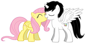 LightShy Kiss by TheMexicanPunisher