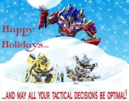 Autobots Holiday by tainry