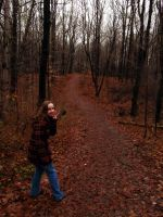 Walking In the Woods. by POETRYTHROUGHLENS