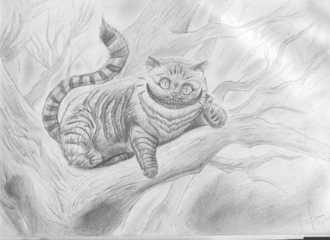 The Cheshire Cat by Tyterth