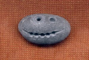 Grinning Stone Pendant by DonSimpson