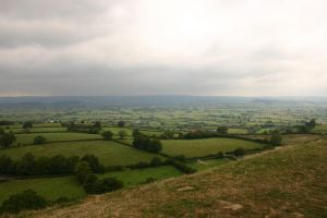 Glastonbury Tor Hillside by FoxStox