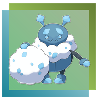 Beetchill, Rolling Fakemon by FakeMakeT