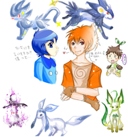 Gayness + Pokemon + Gijinka by TheIncarnationPokemo